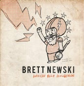 Image of Brett Newski - American Folk Armageddon - Vinyl