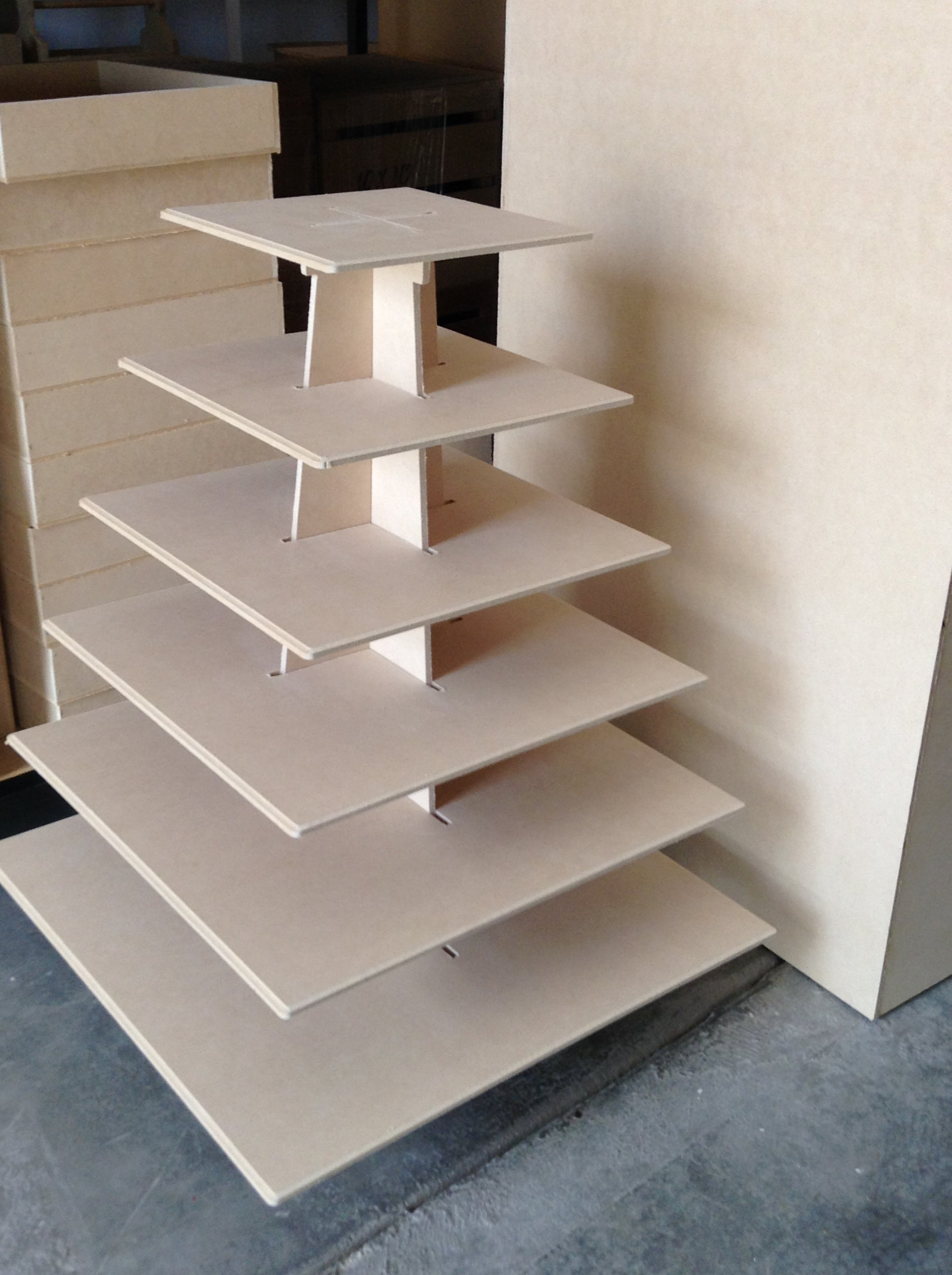 6 Tier Cupcake Stand Promacraft