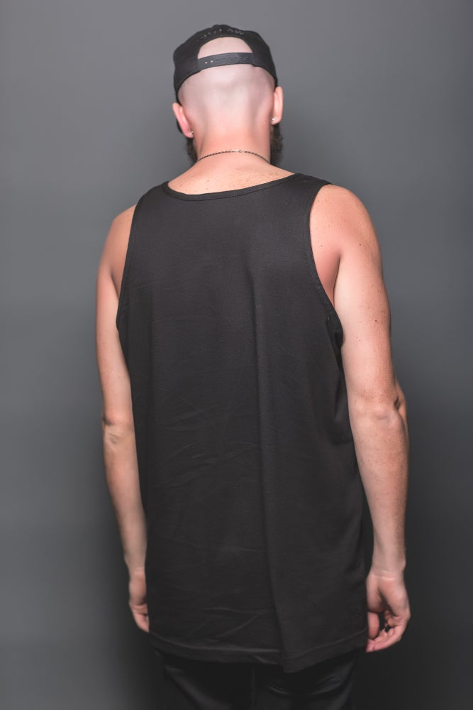 Image of OUTLAWS VEST (BLACK)