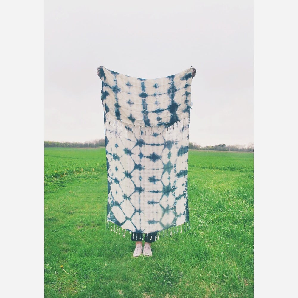 Image of Shibori scarf