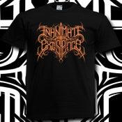 Image of Inanimate Existence Orange Logo Shirt