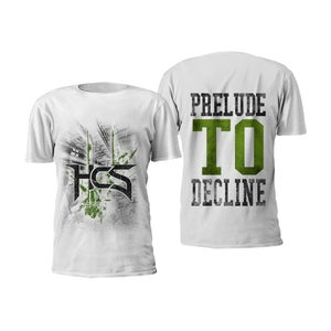 Image of Prelude To Decline T-Shirt (White)