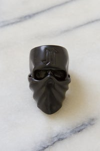 Image of DEATH SKULL RING (USA SIZE 10) - BLACK