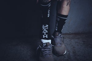 Image of DEATH SQUAD SOCKS - BLACK