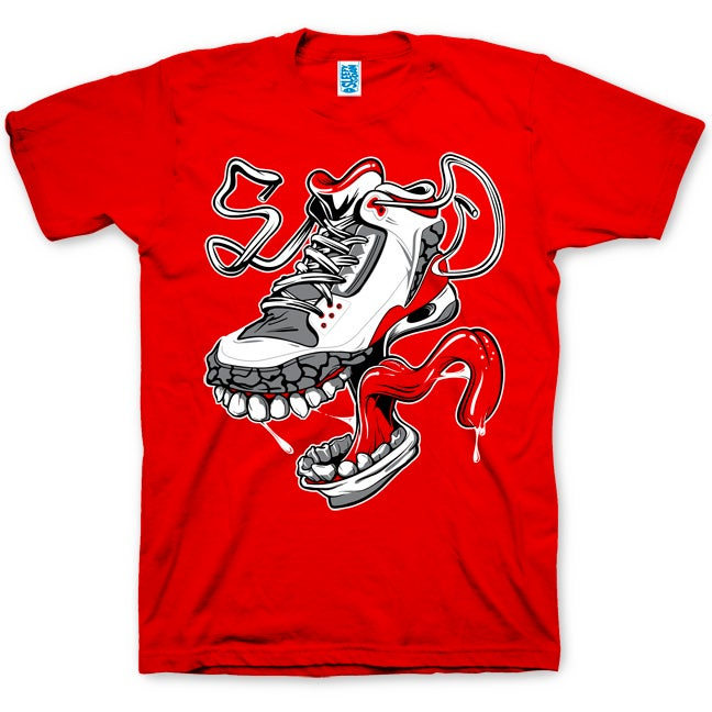 Image of MONSTER KICKS - MENS RED