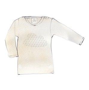 Image of Long Sleeve Cloud T-Shirt