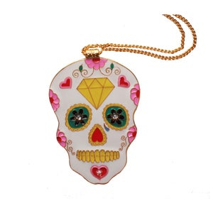 Image of **NEW** Sugar Skull Necklace