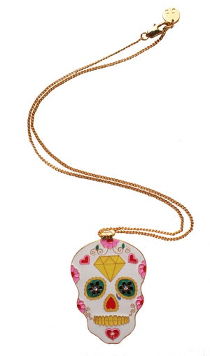 Image of Sugar Skull Necklace