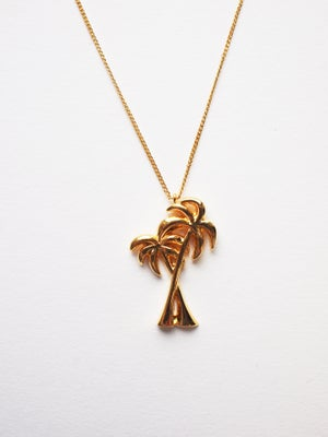 Image of Palm Tree Necklace
