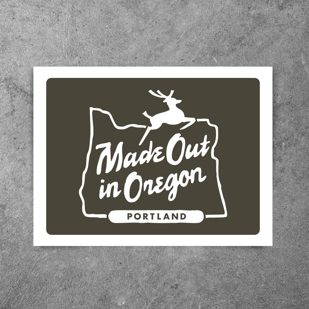 Image of MADE OUT IN OREGON BROWN