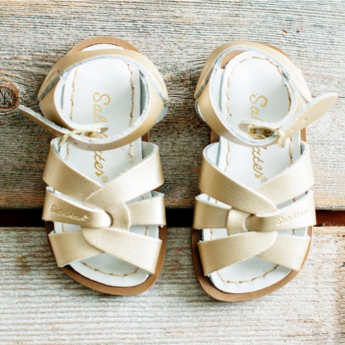 Image of Kids Gold SaltWater Sandals