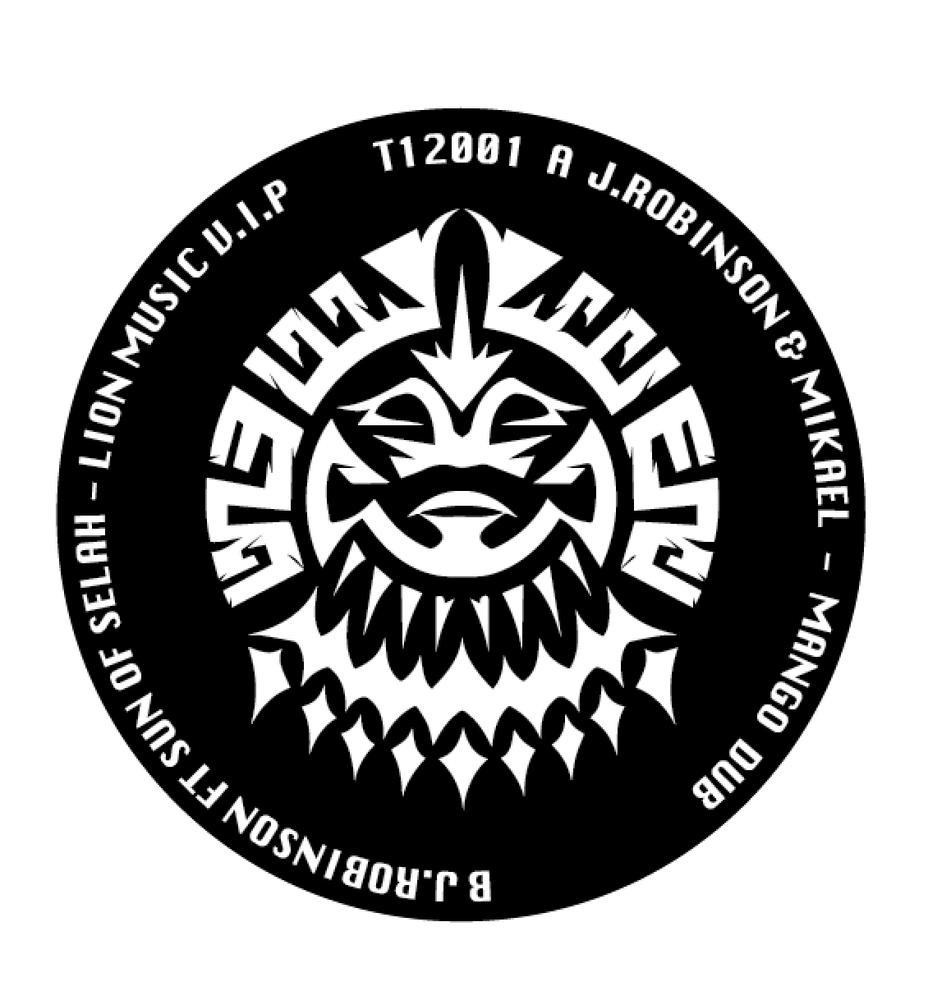Image of T12001 J.Robinson & Mikael/J.Robinson Ft Sun Of Selah - Mango Dub/Lion Music V.I.P