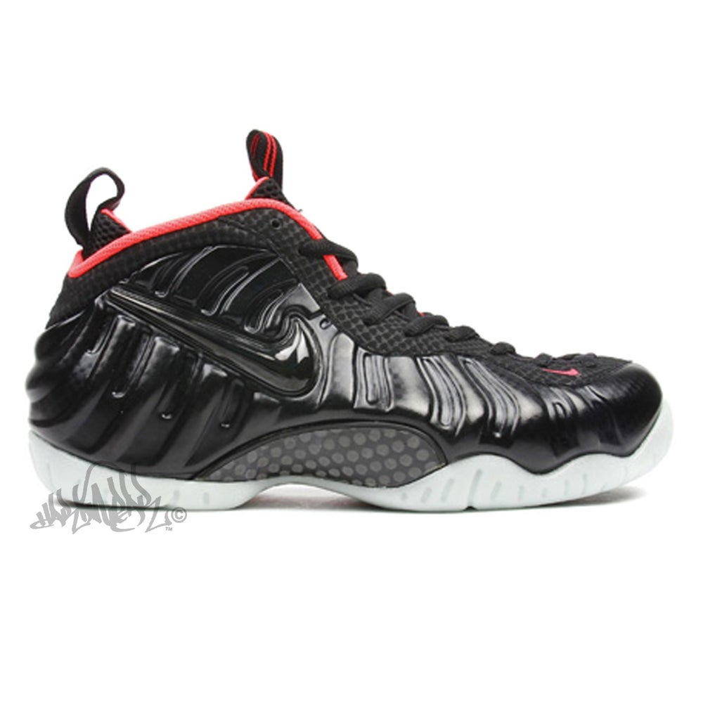 Image of NIKE AIR FOAMPOSITE PRO PRM - YEEZY - 616750 001