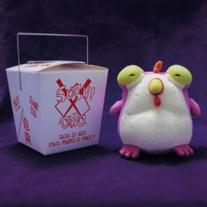 Image of CHEW: Plush Chog - Pink - SOLD OUT!