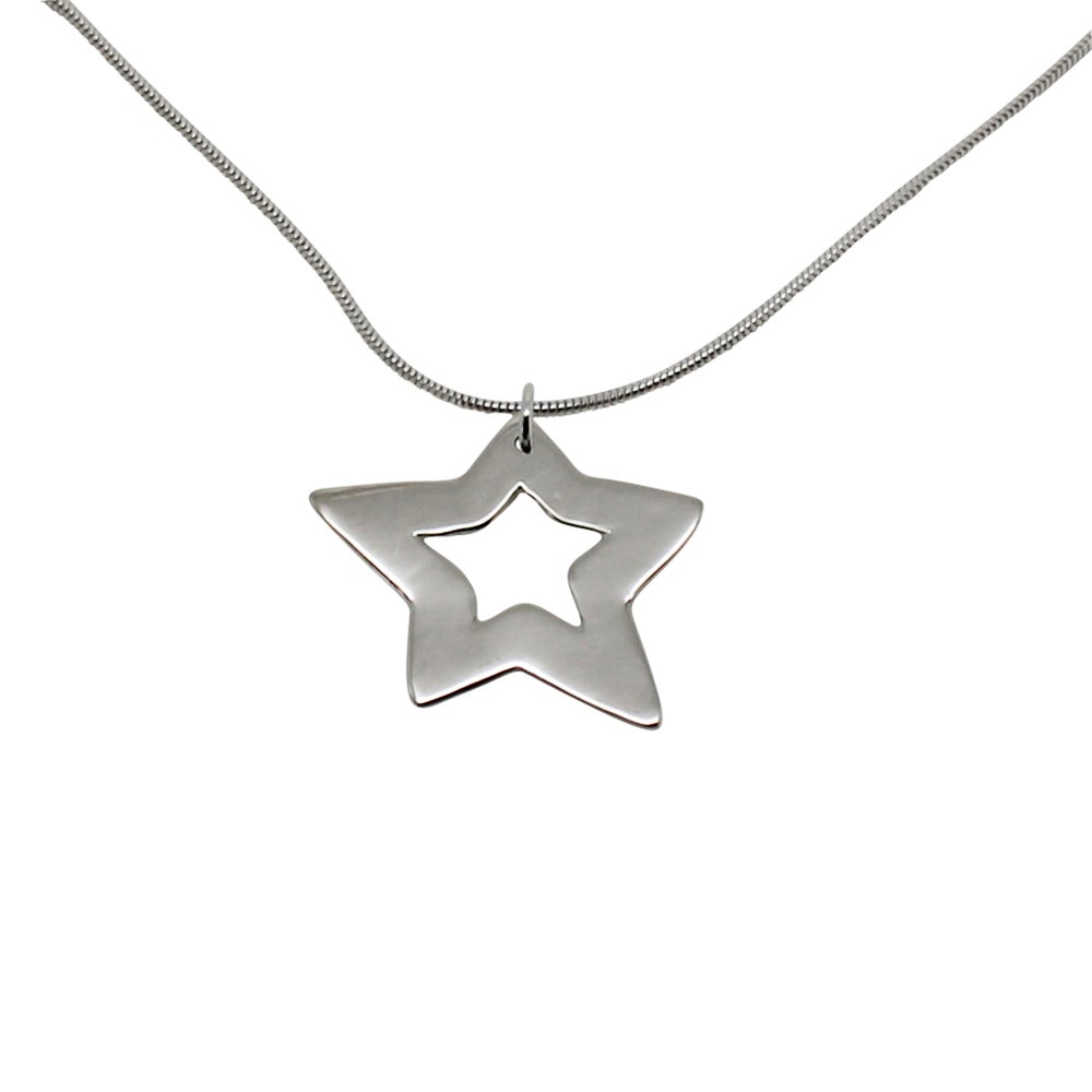 Image of Star Sterling Silver Necklace