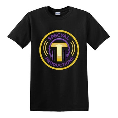 Image of SPECYAL T PRODUCTIONS  Logo Tee