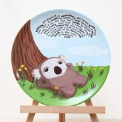 Image of Kevin the Koala Plate