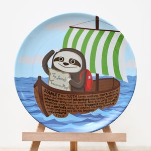 Image of Stanley the Sloth Plate