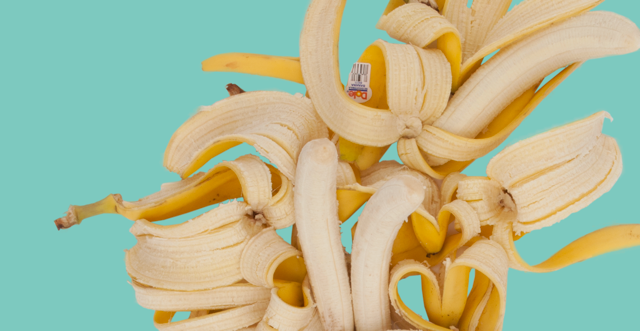 Image of Fallen Fruit- Rainbow Banana Print