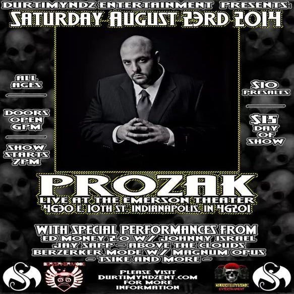 Image of Prozak at the Emerson Theater