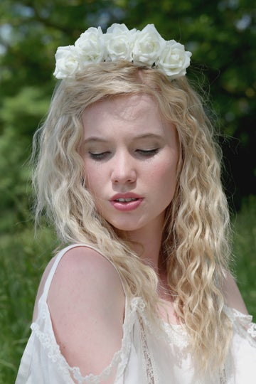 Image of Wild Rose Crown White