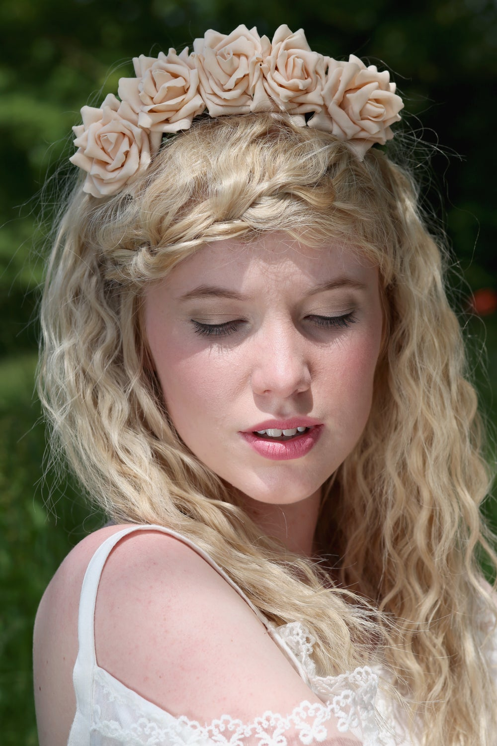 Image of Wild Rose Crown Peach