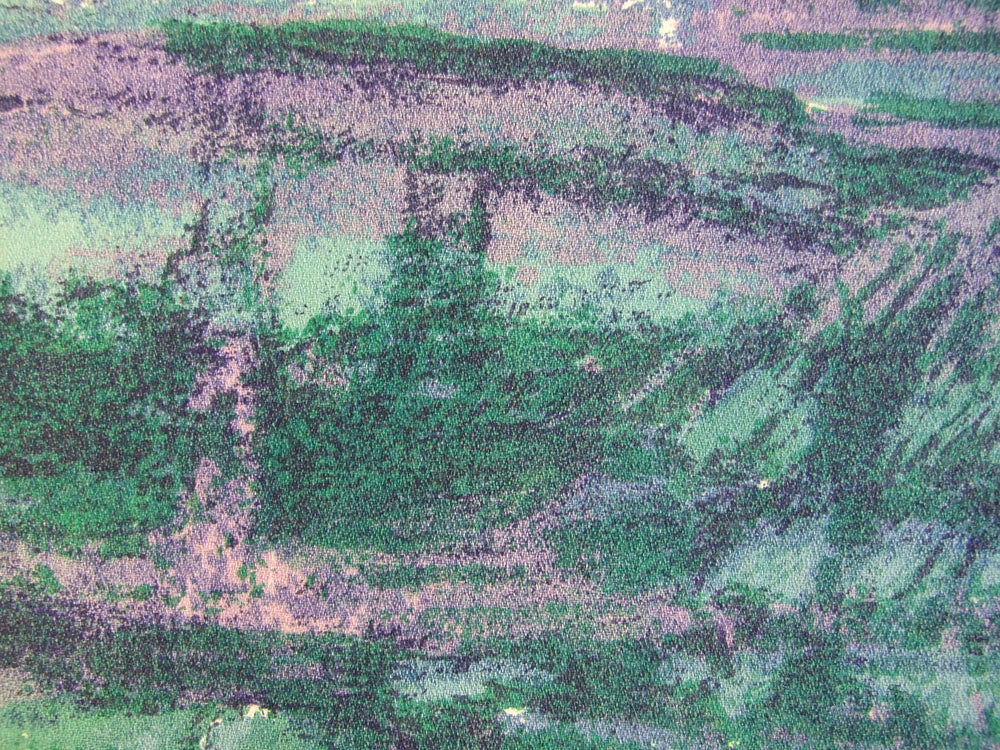 Image of 'Borealis' Barkcloth fabric - Fat Quarter