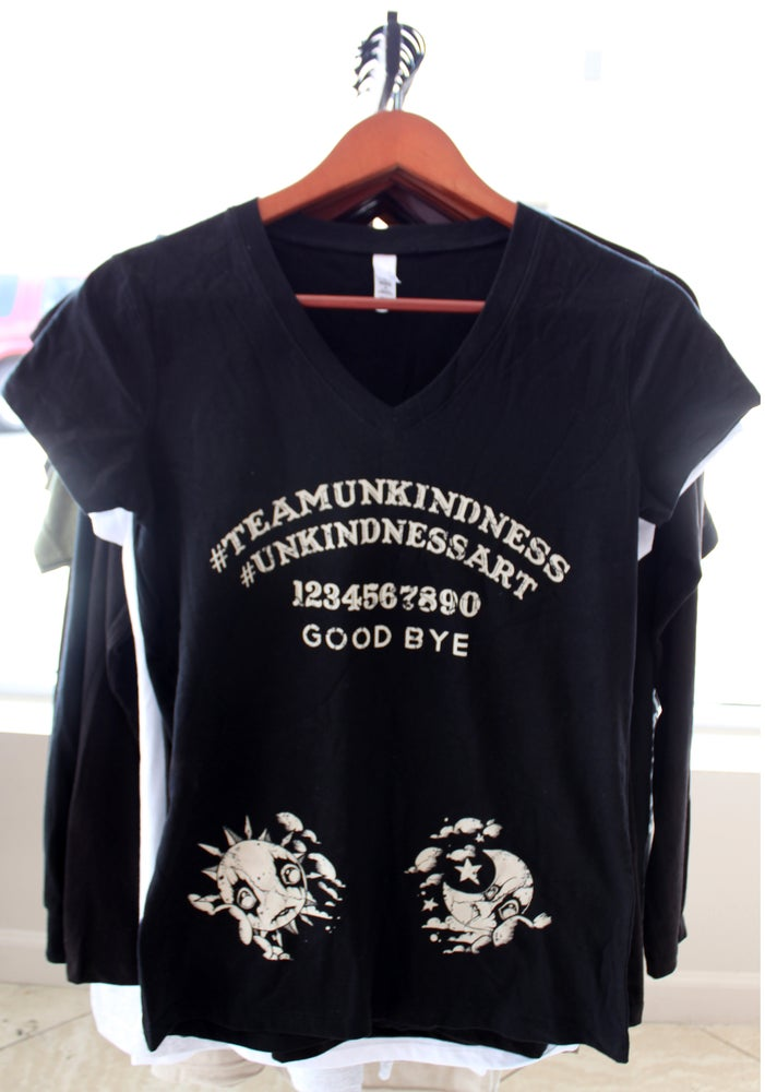 Image of Unkindness Ouija Women's V-Neck T-Shirt