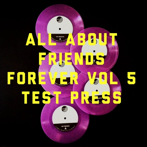 Image of ALL ABOUT FRIENDS FOREVER VOLUME FIVE TEST PRESS