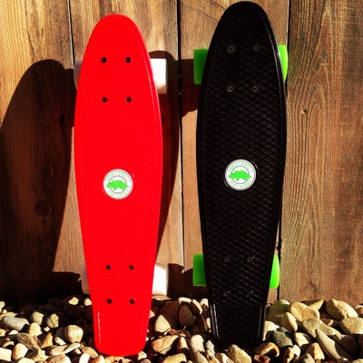 Image of SHADY SKATE (Black Hole & Red Rocket)