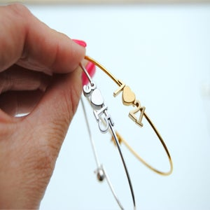 Image of Love Number Bangle