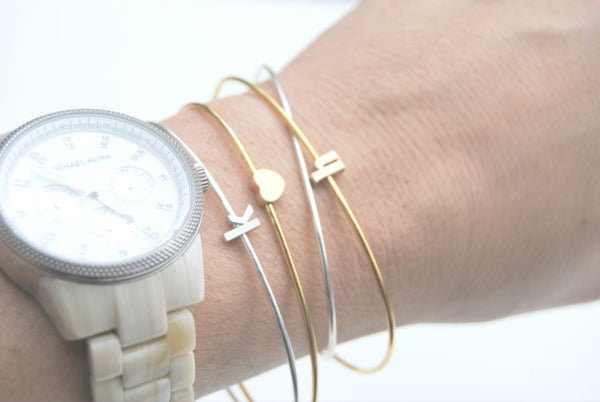 Image of Sale! Single letter Bangle