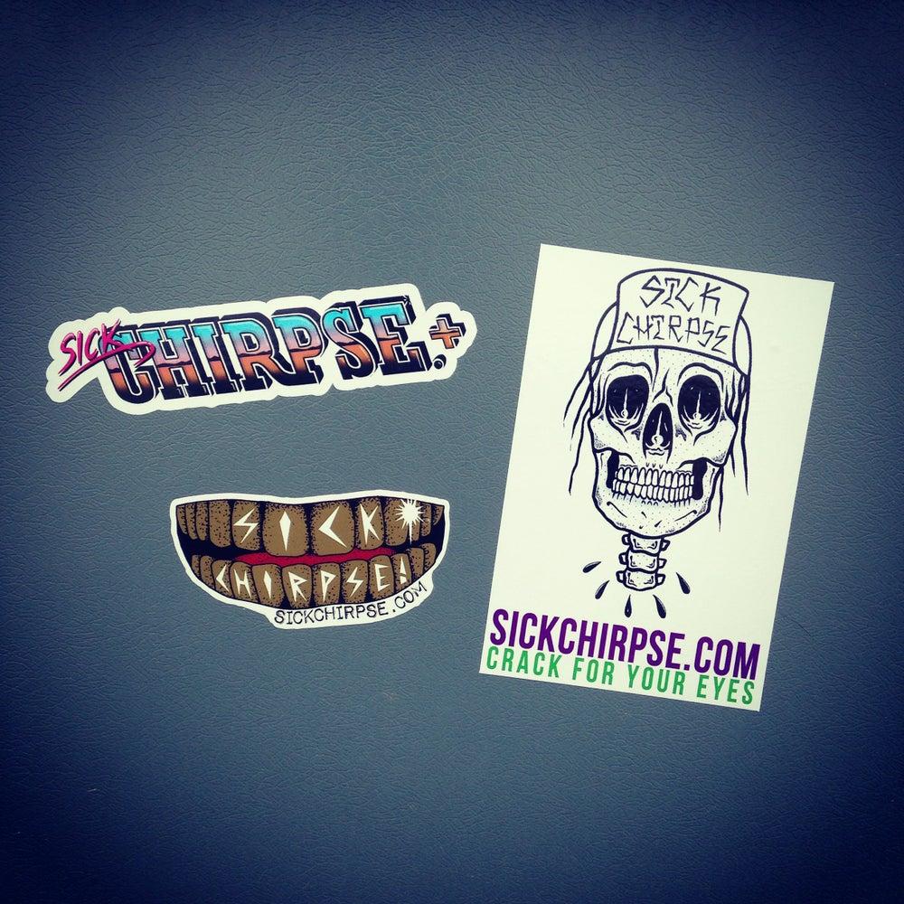 Image of Sick Chirpse Sticker Pack