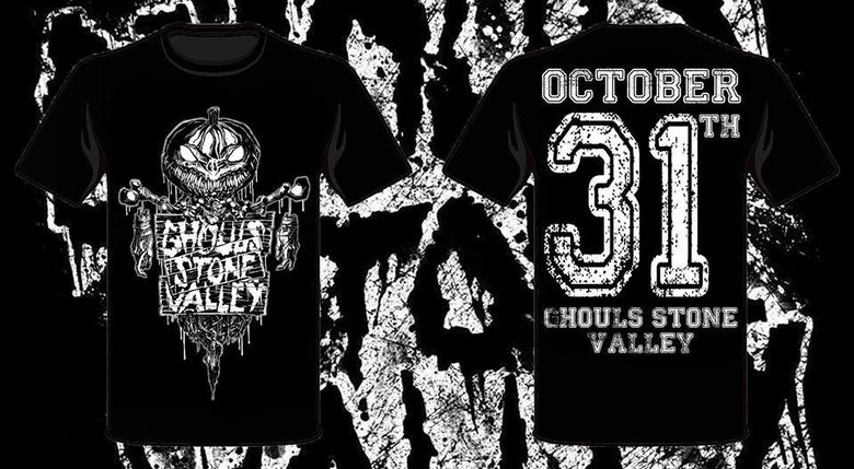 Image of Ghouls Stone Valley Pumpkin Tee