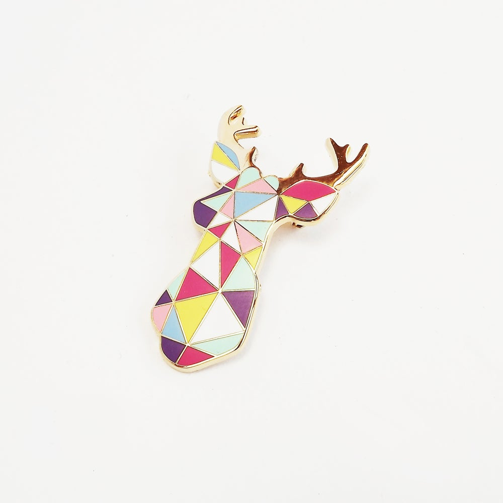 Image of STAG BROOCH