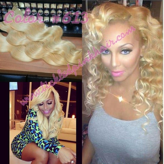 Image of Russian Body Wave Color #613