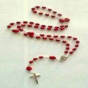 Image of Ladybug Red & Black Rosary