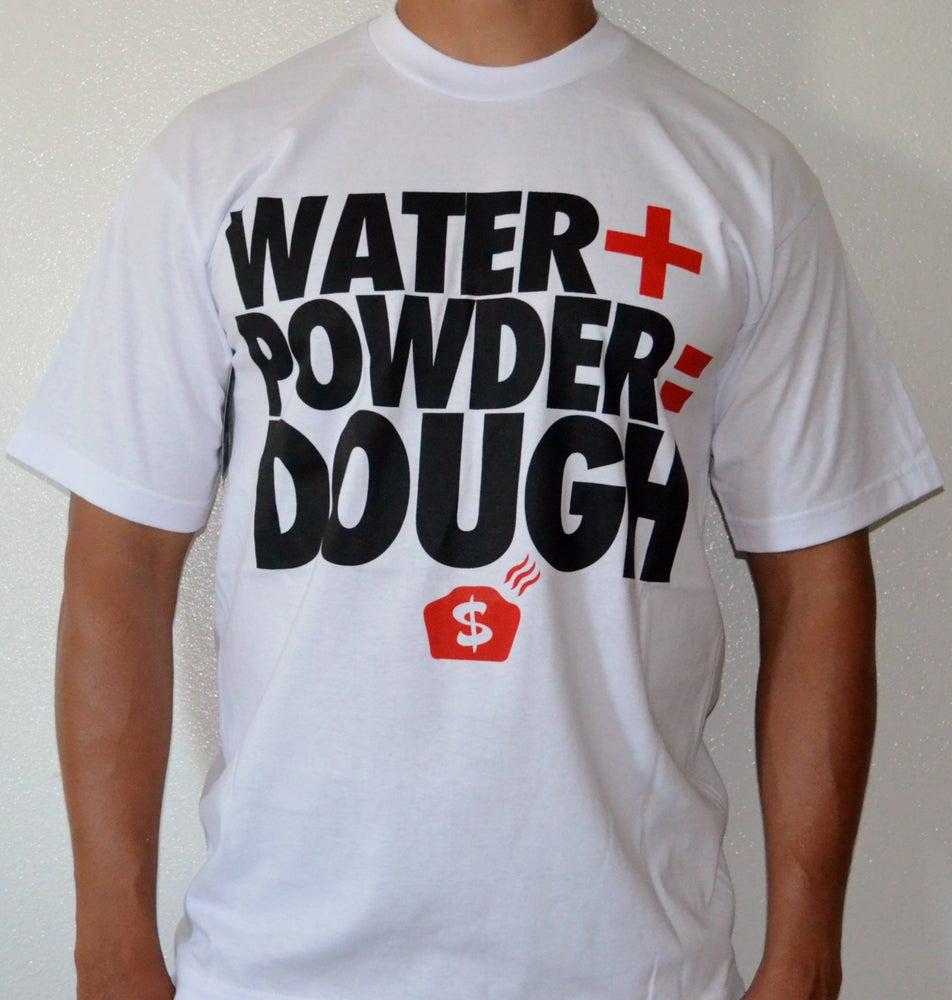 Image of Water+Powder=DOUGH