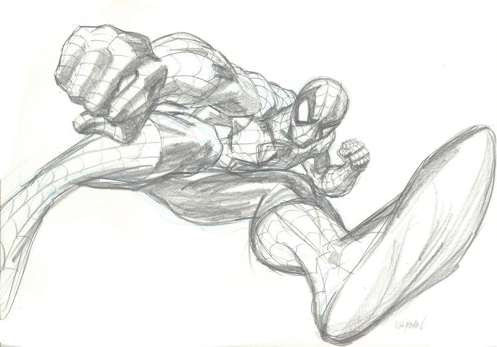 Image of SPIDER-MAN ORIGINAL ART 02