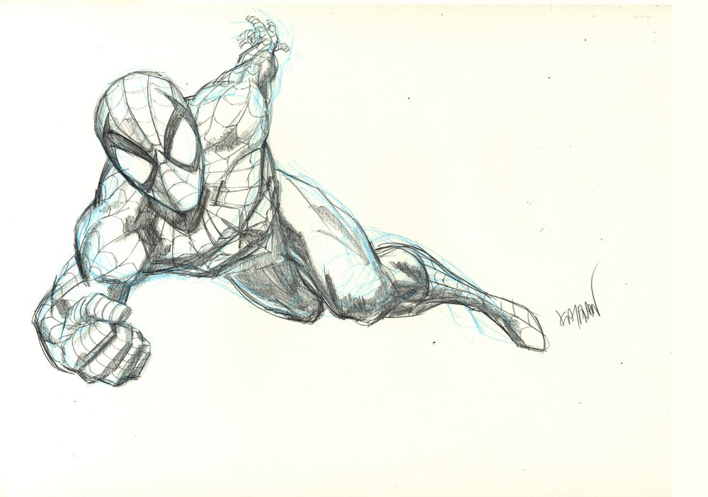 Image of SOIDER-MAN Original Art 06