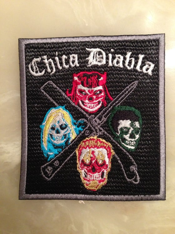 Image of Chica Diabla embroidered patch