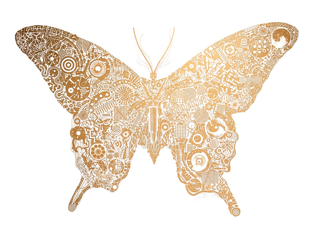 Image of Mechanical Butterfly