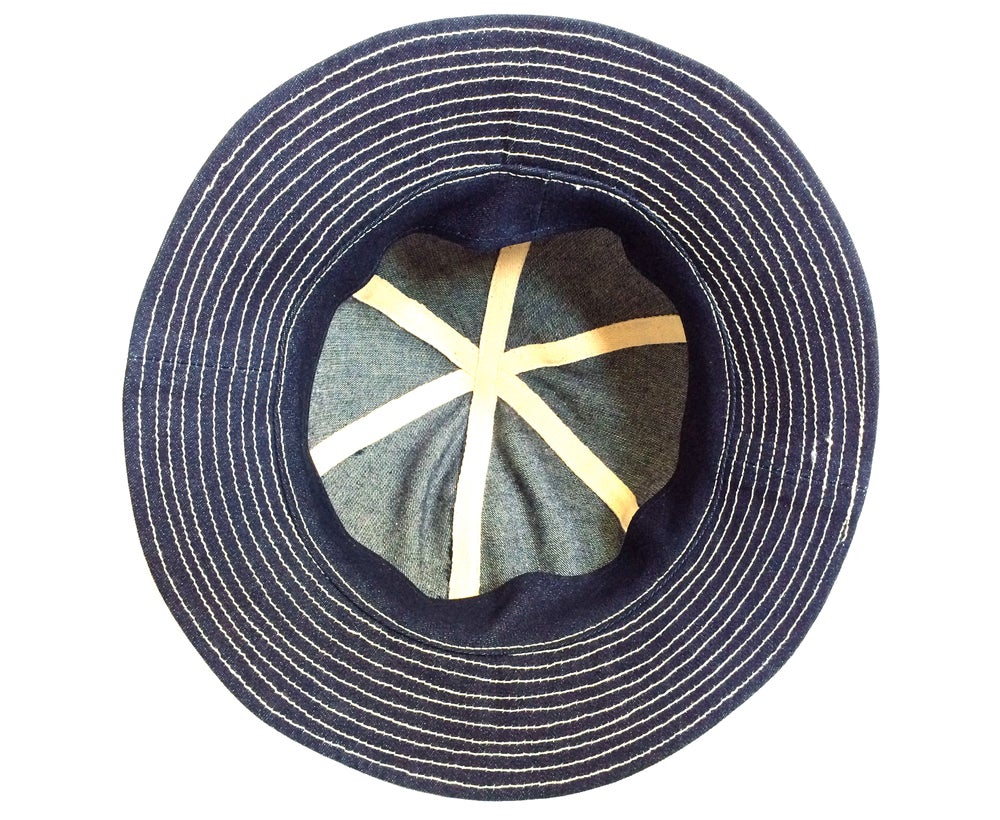 Image of WWII DAISY MAE DENIM HAT