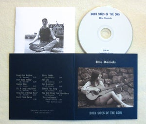 Image of ELLIE DANIELS ~ BOTH SIDES OF THE COIN ~ cd (TIME-LAG 061)