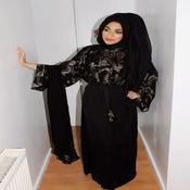 Image of Ms Arabia 'Chain reaction' Abaya