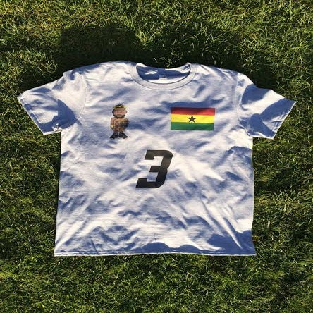 Image of Renaissance Man x World Cup  Jersey Tee (Grey)