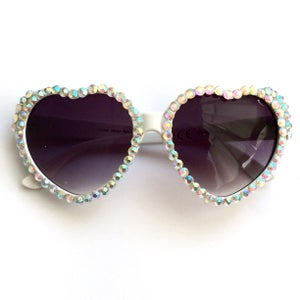 Image of 'Darling' Gem Heart Sunglasses BACK SOON