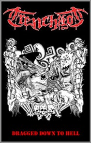 Image of TRENCHROT (Usa) Dragged down to hell Demo tape