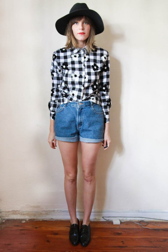 Image of little flowers blouse