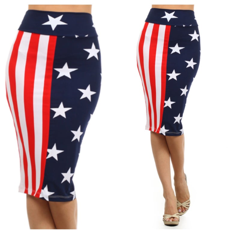 Image of 4 of July Skirt